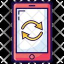 Mobile Reset Mobile Reboot Mobile Restart Icon