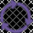 Refresh Round Arrows Icon