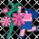 Refreshing Flower Fresh Icon