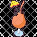 Juice Glass Drink Beverage Icon
