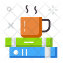 Refreshment Book And Coffee Education Icon