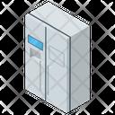 Fridge Refrigerator Home Appliance Icon