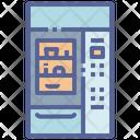 Machine Vending Fridge Icon