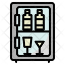 Refrigerator Wine Bar Icon