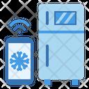 Refrigerator Smart Temperature Icon