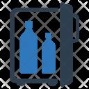 Alcohol Bottles Refrigerator Icon