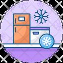 Fridge Refrigerators Fridge Freezer Icon