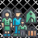 Refugee Migration Immigration Icon