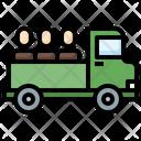 Refugee Truck Icon