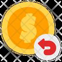 Refund Cashback Refunding Icon