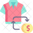 Refund Commerce And Shopping Tshirt Icon