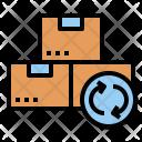 Reexport Export Refund Icon