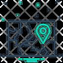 Region Field Zone Icon