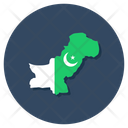 Region Geographic Map Icon