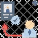 Register Qualify Staff Icon