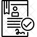 Register Login Catalog Icon