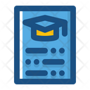 Register Education List Icon