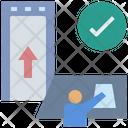 Identify Entrance Qualified Icon