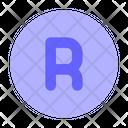 Registered Symbol Icon