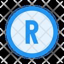 Registered Trademark R Icon