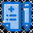Registration Medical Register Icon