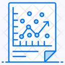 Regression Analysis Data Visualization Statistics Icon