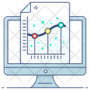 Linear Regression Regression Analysis Analysis Growth Icon