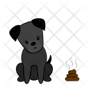 Poop Sorry Dog Icon