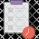 Regular Interval Task Time Task Time Management Icon