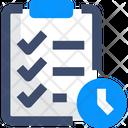 Regular Interval Checklist Tasklist Icon
