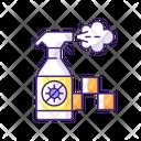 Regularly Disinfected Cab Regularly Disinfected Icon