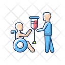 Rehabilitation Service Hospital Icon
