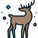 Deer Rudolph Animal Icon
