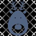 Reindeer Christmas Deer Icon