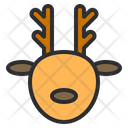 Reindeer Deer Sculpture Icon