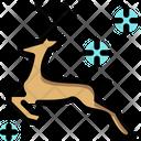 Reindeer Deer Animal Icon