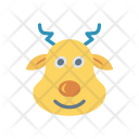 Reindeer Cow Animal Icon