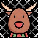Reindeer Winter Deer Icon