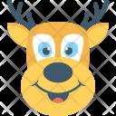 Reindeer Animal Elk Icon