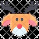 Christmas Deer Reindeer Icon