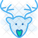Deerm Reindeer Deer Icon