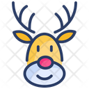 Christmas Reindeer Xmas Icon