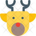 Stag Reindeer Icon