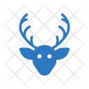 Reindeer Christmas Animal Icon
