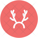 Reindeer Horns Antlers Icon