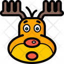 Christmas Reindeer Xmas Icon