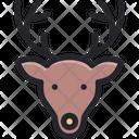 Christmas Reindeer Deer Icon
