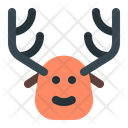 Christmas Rudolph Deer Icon