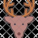 Reindeer Deer Christmas Icon