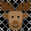 Reindeer Christmas Santa Winter Rudolph Icon